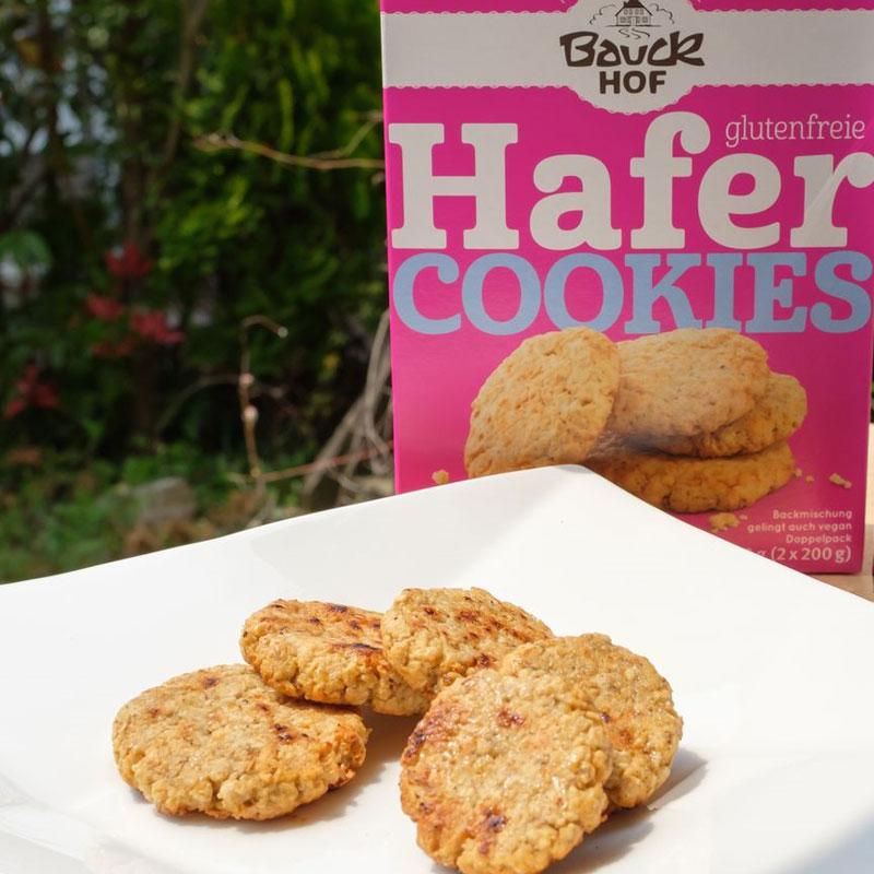 【おうちカフェ】有機グルテンフリーオーツ麦クッキーミックスでヘルシーおやつの完成(70個分×2箱)