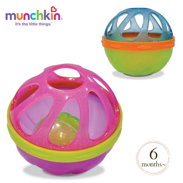 munchkin マンチキン ベビーバスボール/ブルー