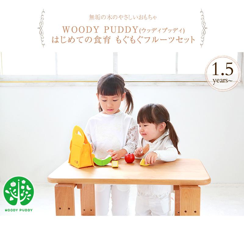 WOODY PUDDY ウッディプッディ はじめての食育 もぐもぐフルーツセット G05-1171 おうち時間