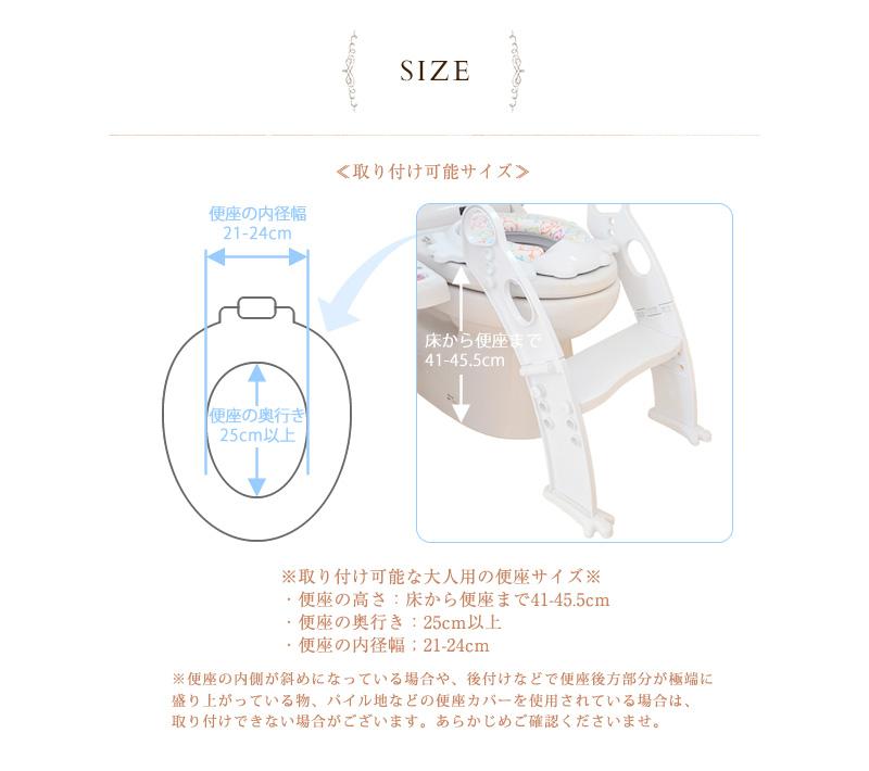 組立式(日本語説明書入) ステップ式補助便座 カエル型 ホワイト PM2697NP-WHITE トイレトレーナー