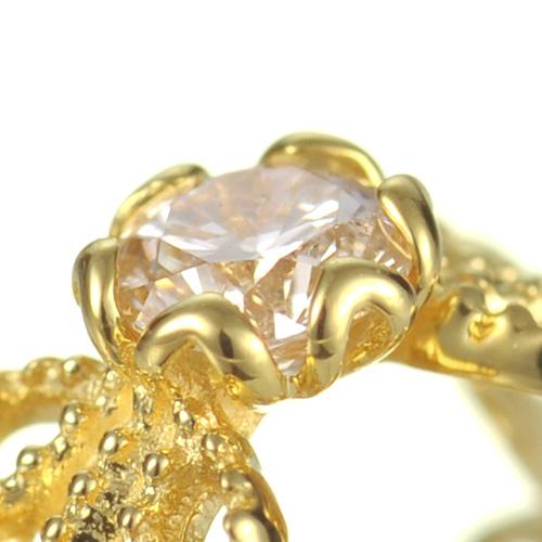 【他商品との同梱不可】 カレン K18 ダイヤモンドベビーリング dream 67-5064 K18 diamond babyring dream K1818金/18k/出産祝い/ベビーリング/誕生日/ダイヤモンド/ダイア/刻印/名入れ/