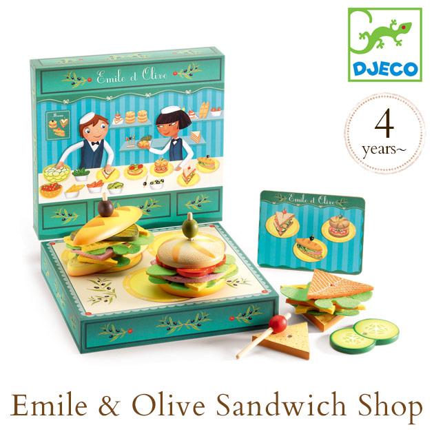 DJECO ジェコ エミール&オリーブ サンドイッチショップ DJ06620 ol06