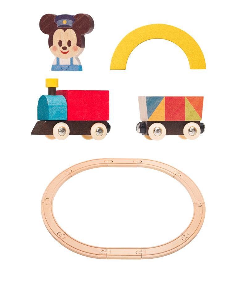 Disney|KIDEA  TRAIN&RAIL/ミッキーマウス TYKD00503 おうち時間