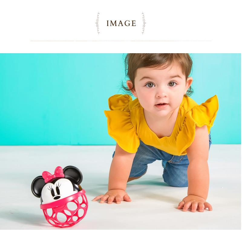 Disney baby ディズニーベビー ラトルアロングバディ オーボール