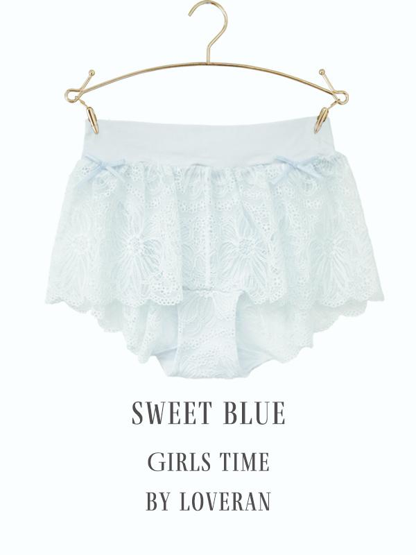 GIRLS time ナイトブラ&ショーツセット