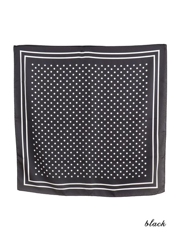 SWEETミニドットスカーフ