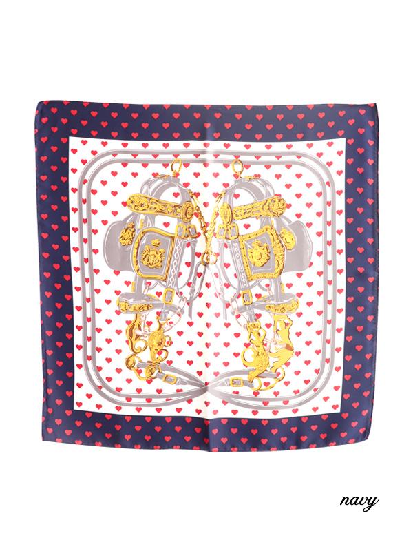 ガーリーハートスカーフ