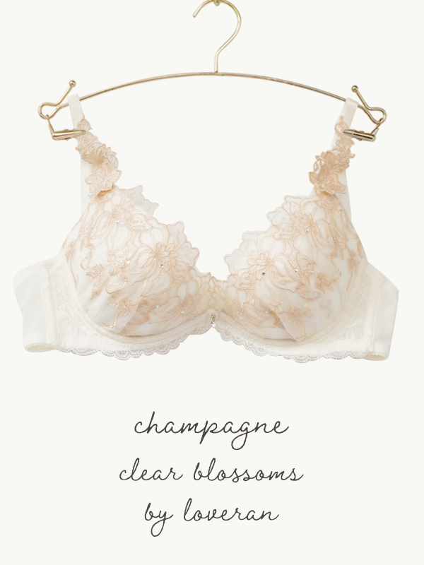 Clear blossoms ブラ&Tバックセット