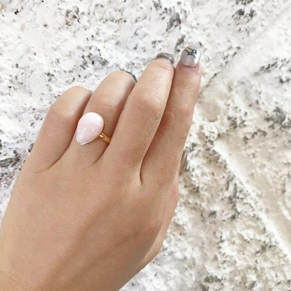 ピンクオパール Ring BAZAAR
