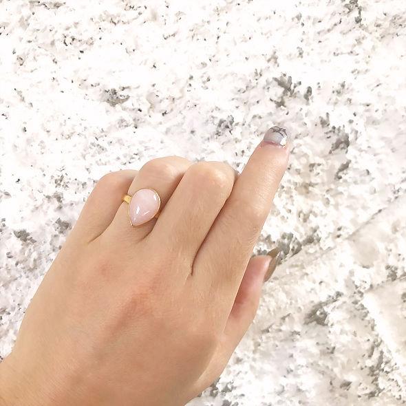 ローズクォーツ Ring BAZAAR