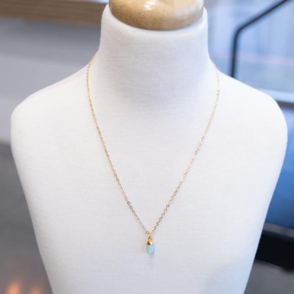 Amazonite necklace アマゾナイト ネックレス BAZAAR