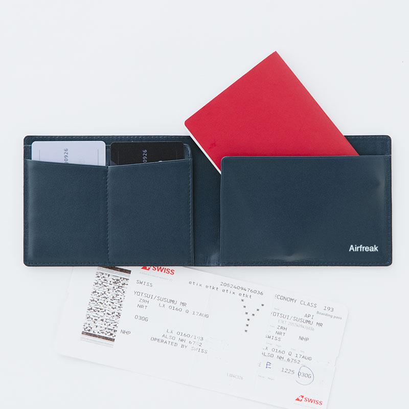 《LEON3月号掲載》 【Airfreak】パスポートケース AF08