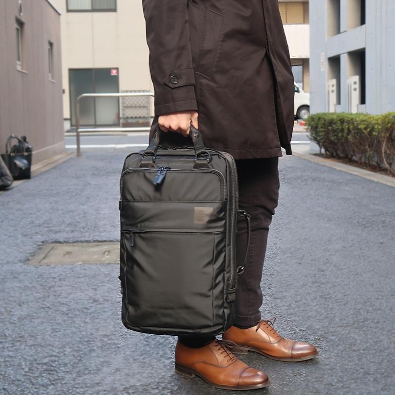 【PID】2way撥水ビジネスリュック PAT201