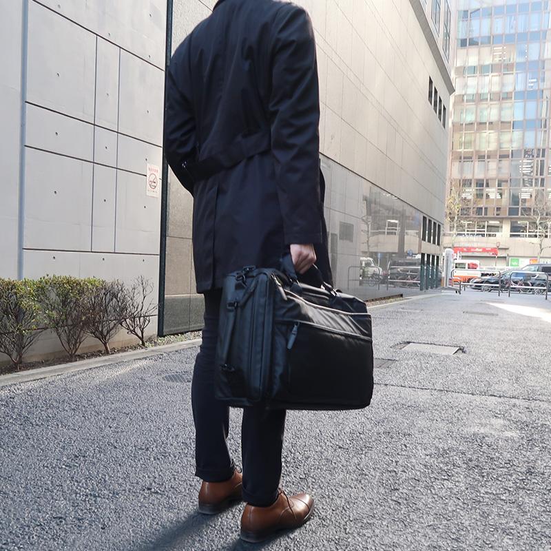【PID】 3way撥水ビジネスボックスリュック PAT203