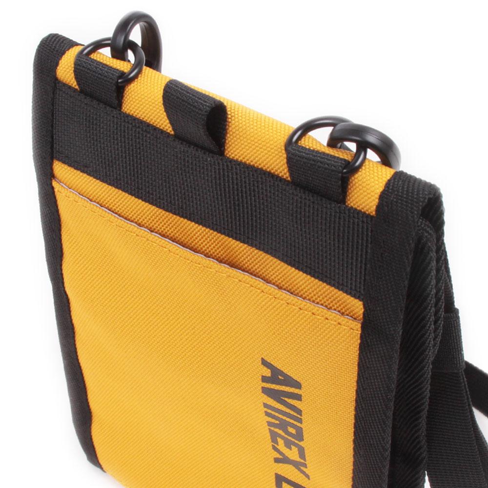 【AVIREX】 ネックホルダー 抗菌・防臭ポケット装備モデル AX2090