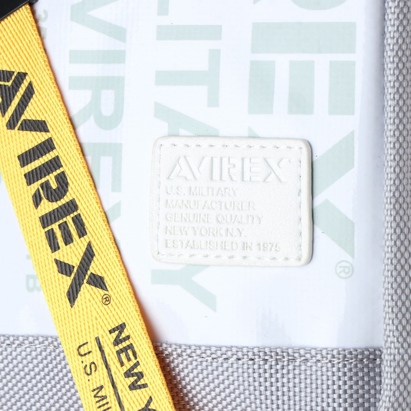 《men's FUDGE4月号掲載》【AVIREX】ワンショルダーバッグAVX591