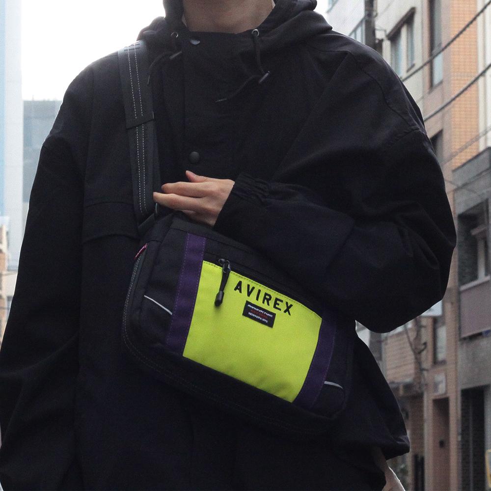 【AVIREX】 ストリートショルダーバッグ AX2041