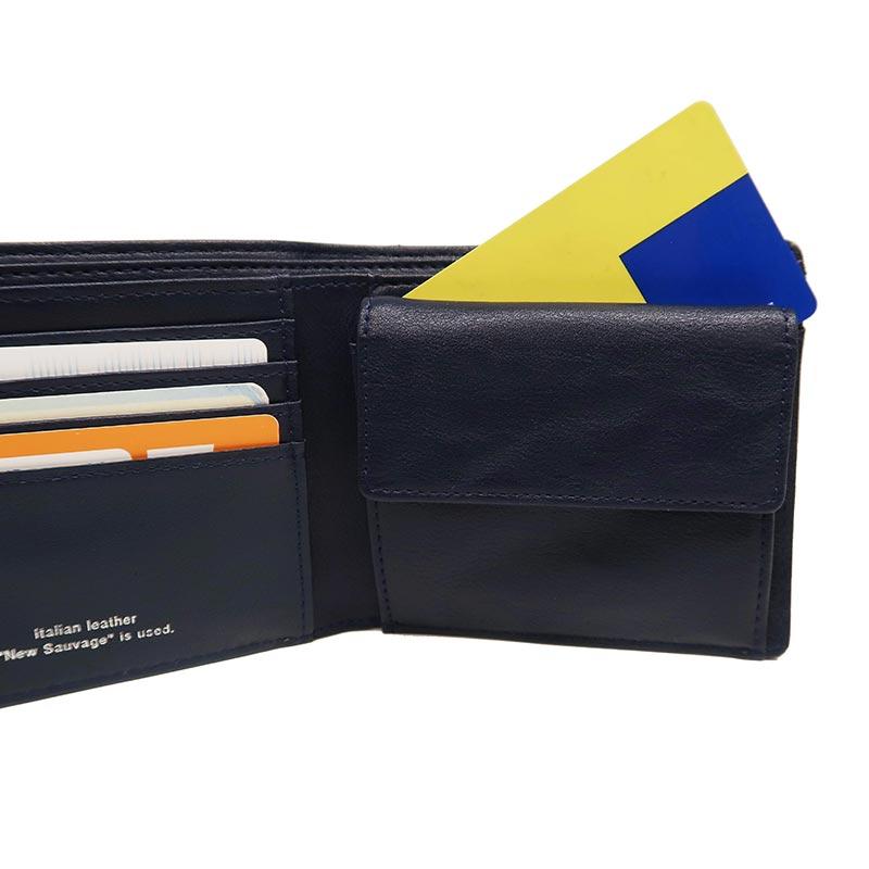 【Misto Forza】カードケース付き二つ折り財布 FMW04
