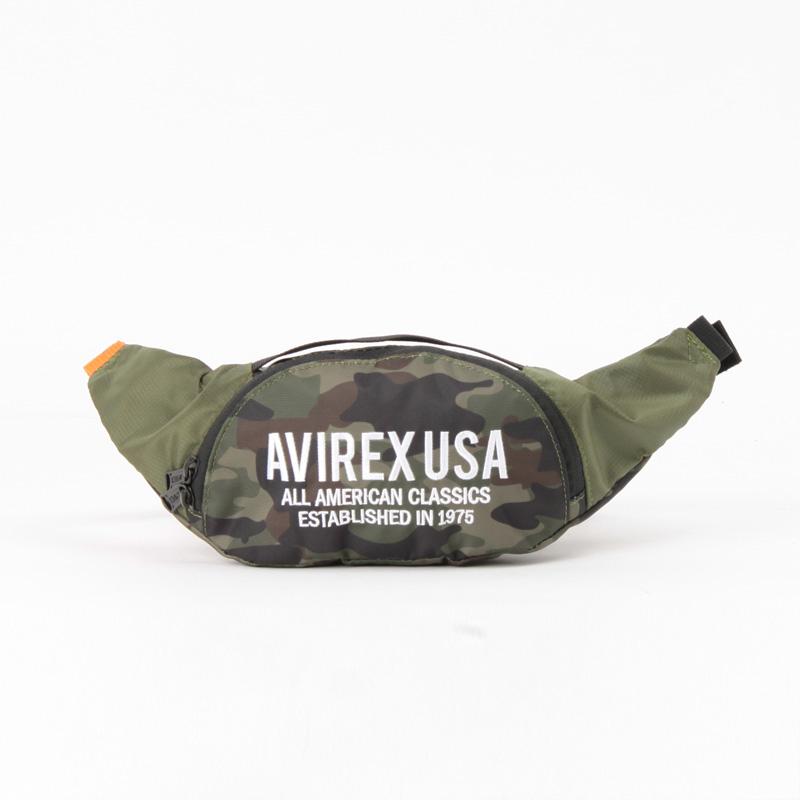 【AVIREX】 ウエストショルダーバッグ  AX1101