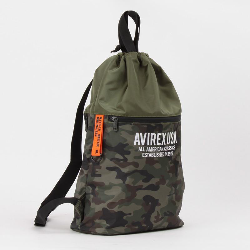 【AVIREX】 ナップサック  AX1102