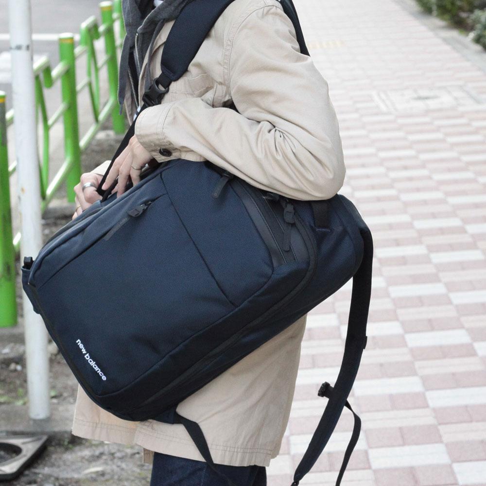 """《men's FUDGE4月号掲載》【NewBalance】3WAY BAG """"BACK BAY"""" バックパック JABL9768"""