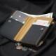 【Bianchi】L字ラウンドファスナー二つ折りウォレット BID1105