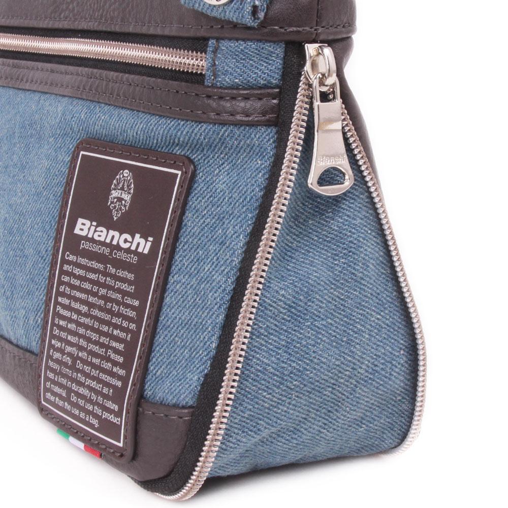 【Bianchi】デニム 薄マチショルダー  TBPI10D