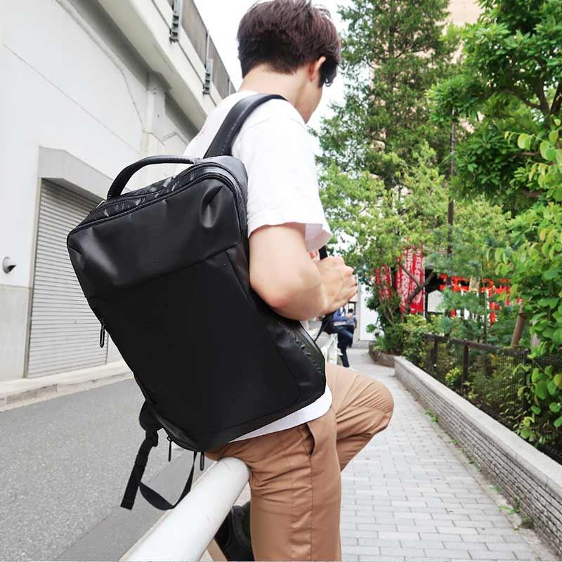 《メンズノンノ11月号掲載商品》【Misto Forza】 撥水3WAYビジネスバッグ FMO02