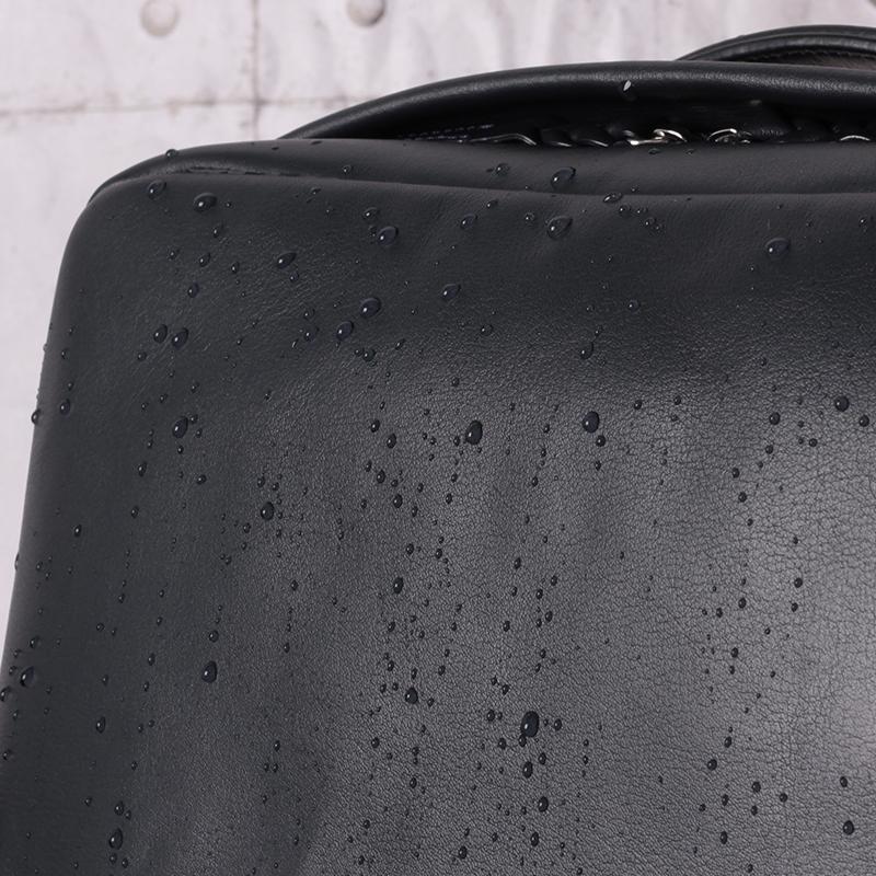 ≪オーシャンズ 2020 5月号掲載商品≫ Ecrire撥水レザースクエアリュック【PID】  PAZ102