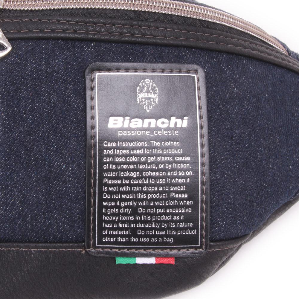 【Bianchi】デニム ウエストバッグ  TBPI16D