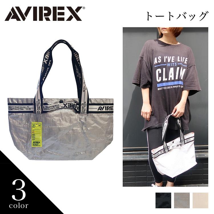 【AVIREX】 トートバッグ AX1004