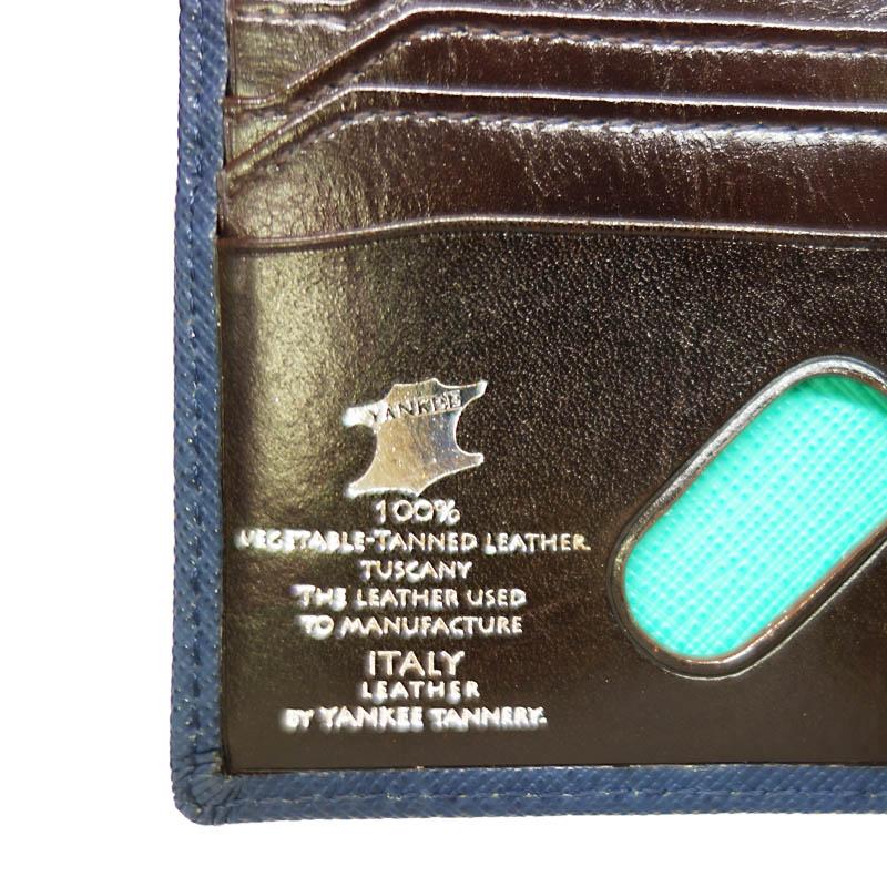 新色ブルー追加 【Bianchi】 2つ折り財布 BIA1004