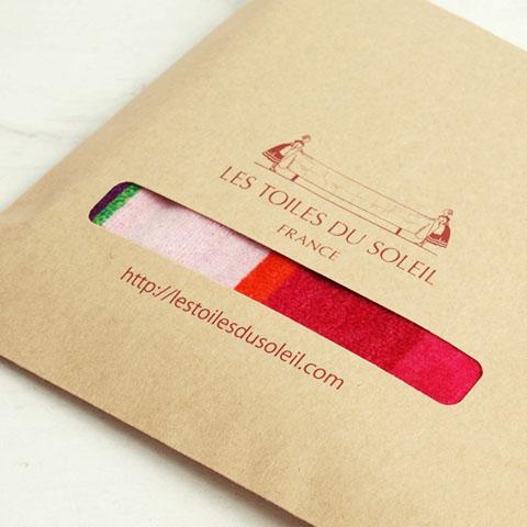 【A135】今治 ミニタオル(サントラン ブラン ロア/SANTORIN Blanc Roy)