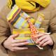 【A194】ソレイユポーチワイド(コンフィチュール ドゥ フリュイ ルージュ サーモン/CONFITURE DE FRUITS Rouge Saumon)