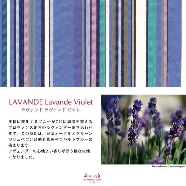 【A135】今治 ミニタオル(ラヴァンド ラヴァンド ヴィオレ/LAVANDE Lavande Violet)