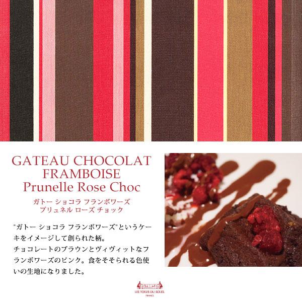 【A197】コスメポーチ(ガトー ショコラ フランボワーズ プリュネル ローズ チョック/GATEAU CHOCOLAT FRAMBOISE Prunelle Rose Choc)