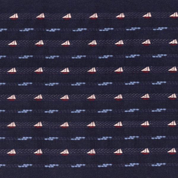 20%OFF【生地】43cm幅生地(ヴォワリエ マリン/VOILIER Marine)  ※数量1=50cm