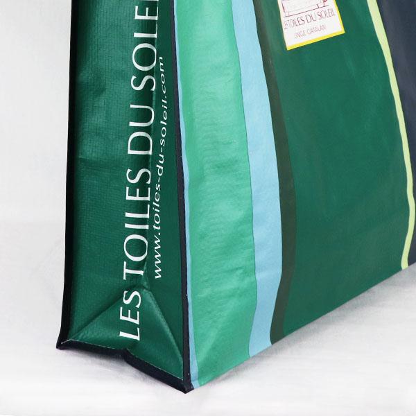 【F001】フランス ショッピングバッグ(ジューヌ サンセット ブラン ペタル/JUNE SUNSET Blanc Petale)