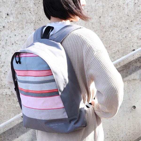 【U468】カジュアルバックパック(コート ヴェルメイユ ミエル ロワ/COTE VERMEILLE Miel Roy)