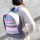 【U468】カジュアルバックパック(ロザルバン グリ ブラン/ROSALBIN Gris Blanc)
