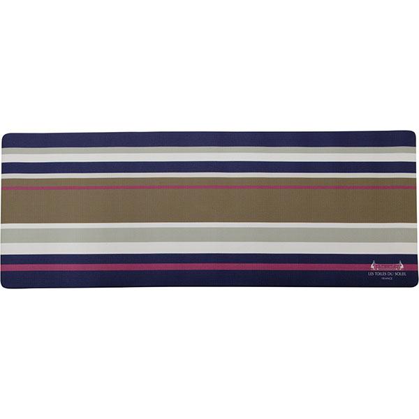 【YZ006】PVCキッチンマット180cm(ジュピター マリン トープ/PETIT JUPITER Marine Taupe)