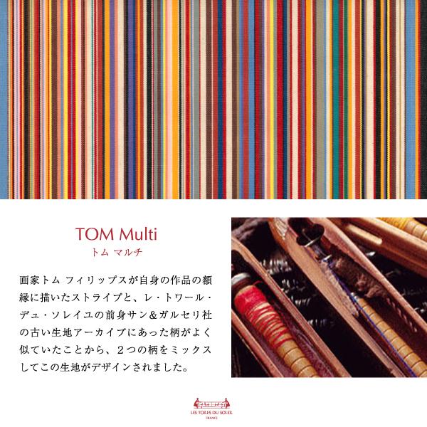 【R157】2WAY4ポケットトート(トム マルチ/TOM Multi×ブラック)
