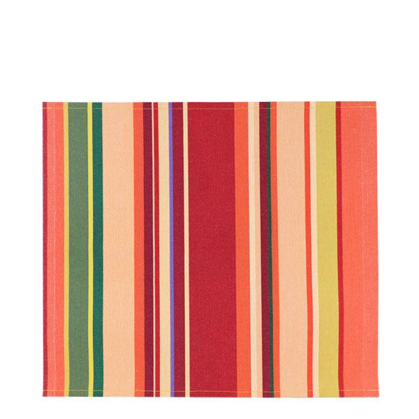 20%OFF【C008】ランチョンマット(コンフィチュール ドゥ フリュイ ルージュ サーモン/CONFITURE DE FRUITS Rouge Saumon)