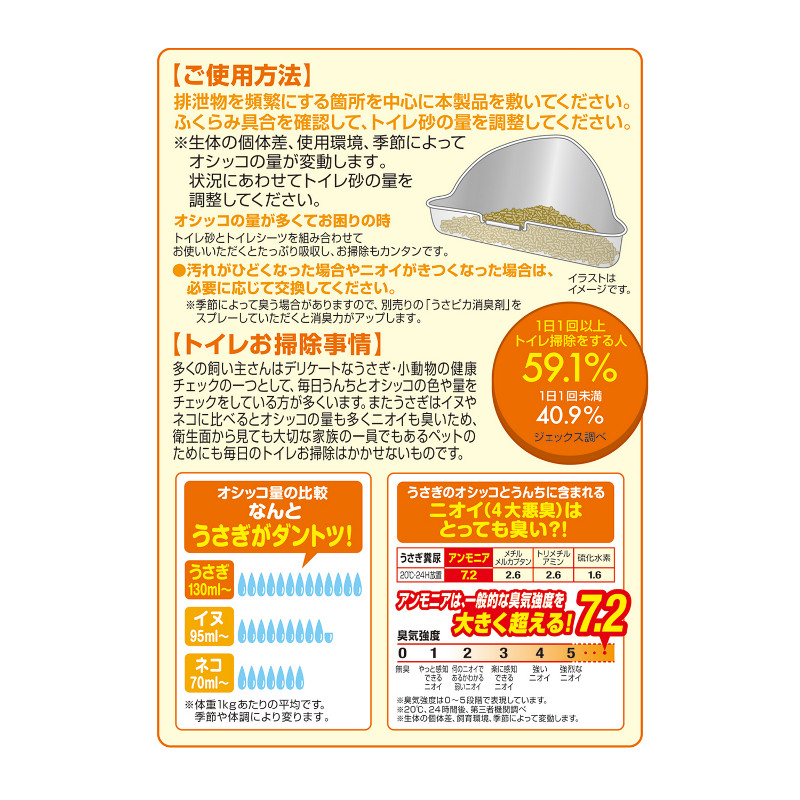 GEX ラビレット ヒノキア消臭砂 6.5L