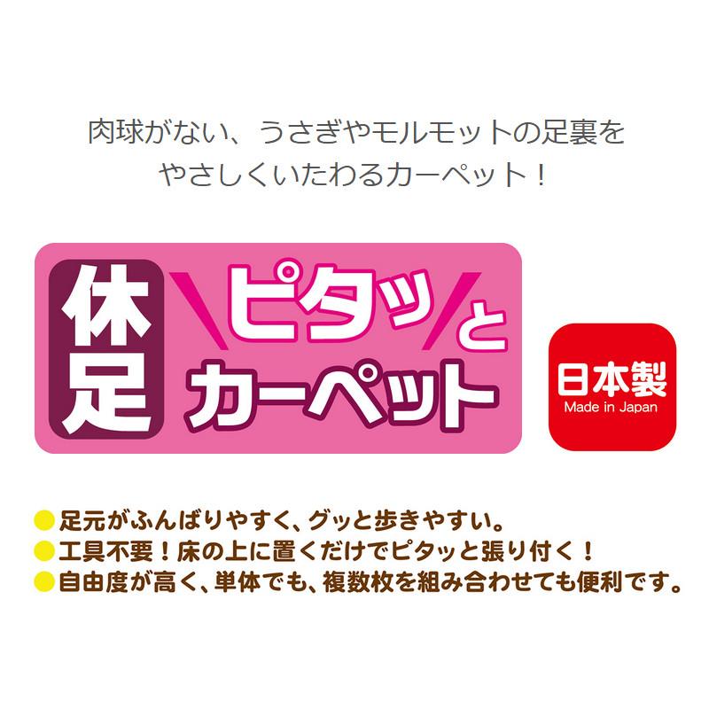 SANKO 休足ピタッとカーペット 5枚入 J51