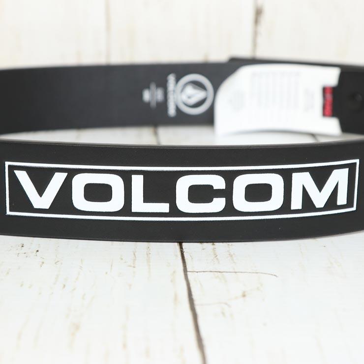 VOLCOM ボルコム CLONE PU BELT 合皮ベルト D5921600