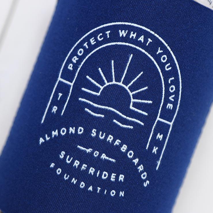 [クリックポスト対応] ALMOND SURF アーモンドサーフ PROTECT WHAT YOU LAVE KOOZIE クージー ドリンクホルダー