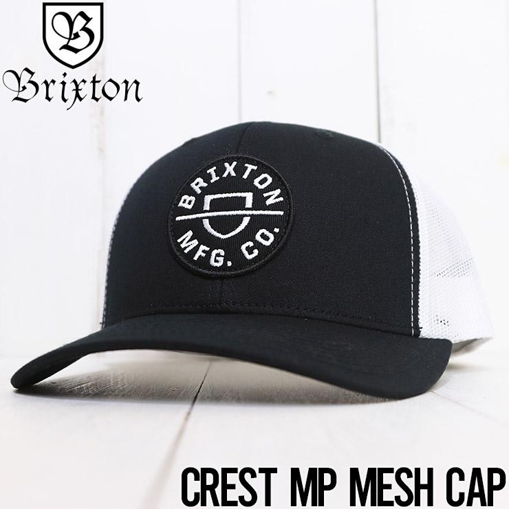 【送料無料】 BRIXTON ブリクストン CREST MP MESH CAP メッシュキャップ 10651 [FB]