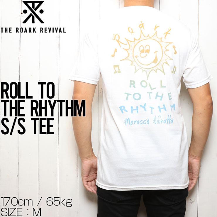 [クリックポスト対応] THE ROARK REVIVAL ロアークリバイバル ROLL TO THE RHYTHM S/S TEE 半袖Tシャツ RT857