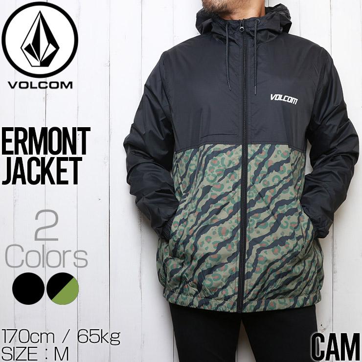 【送料無料】 VOLCOM ボルコム ERMONT JACKET ナイロンジャケット A1531901